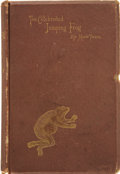 Books:First Editions, Mark Twain [Samuel L. Clemens]. The Celebrated Jumping Frog ofCalaveras County, and Other Sketches. New York: C...