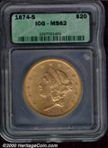 Additional Certified Coins: , 1874-S $20