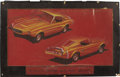 Movie/TV Memorabilia:Original Art, George Barris Ford Mustang GX Coupe Design Artwork. Introduced tocar buyers in 1964, the Ford Mustang sold more than one mi...(Total: 1 Item)
