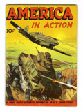 Golden Age (1938-1955):Non-Fiction, America in Action #1 (Dell, 1945) Condition: VG+....