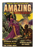 Golden Age (1938-1955):Science Fiction, Amazing Adventures #1 (Ziff-Davis, 1950) Condition: VG+....