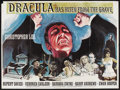 """Movie Posters:Horror, Dracula Has Risen From the Grave (Warner Brothers, 1969). BritishQuad (30"""" X 40""""). Romantic Horror. Starring Christopher Le..."""