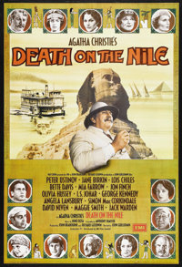 "Death on the Nile (Paramount, 1978). British One Sheet (27"" X 40""). Mystery. Starring Peter Ustinov, Bette Dav..."