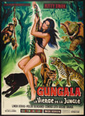 "Movie Posters:Adventure, Virgin of the Jungle (Les Films Marbeuf, 1967). French Grande (47""X 63""). Adventure. Starring Kitty Swan, Linda Veras, Pold..."