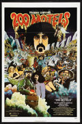 """Movie Posters:Comedy, 200 Motels (United Artists, 1971). One Sheet (27"""" X 41""""). ComedyFantasy Musical. Starring Theodore Bikel, Frank Zappa (and ..."""