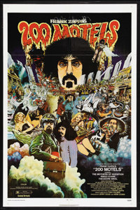"200 Motels (United Artists, 1971). One Sheet (27"" X 41""). Comedy Fantasy Musical. Starring Theodore Bikel, Fra..."