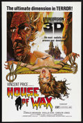 """Movie Posters:Horror, House of Wax (Warner Brothers, R-1970s). One Sheet (27"""" X 41""""). Horror. Starring Vincent Price, Frank Lovejoy, Phyllis Kirk,..."""