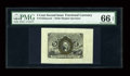 Fractional Currency:Second Issue, Fr. 1232SP 5¢ Second Issue Wide Margin Pair PMG Gem Uncirculated 66 EPQ/64. The face has been graded 66 EPQ. Both halves are... (Total: 2 notes)
