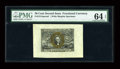 Fractional Currency:Second Issue, Fr. 1314SP 50¢ Second Issue Wide Margin Pair PMG Choice Uncirculated 64 EPQ. Both face and back have earned the same grade. ... (Total: 2 notes)