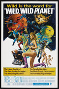 """Movie Posters:Science Fiction, Wild, Wild Planet (MGM, 1967). One Sheet (27"""" X 41""""). ScienceFiction. Starring Tony Russell, Lisa Gastoni, Massimo Serato, ..."""