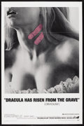 "Movie Posters:Horror, Dracula Has Risen From the Grave (Warner Brothers, 1969). One Sheet(27"" X 41""). Romantic Horror. Starring Christopher Lee, ..."
