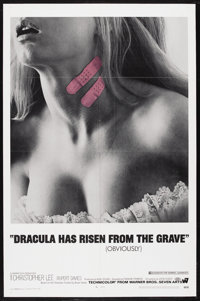 """Dracula Has Risen From the Grave (Warner Brothers, 1969). One Sheet (27"""" X 41""""). Romantic Horror. Starring Chr..."""