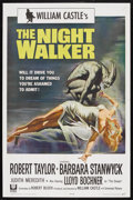 "Movie Posters:Horror, The Night Walker (Universal, 1964). One Sheet (27"" X 41""). Horror. Starring Robert Taylor, Barbara Stanwyck and Lloyd Bochne..."