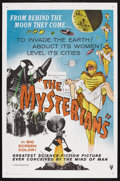 "Movie Posters:Science Fiction, The Mysterians (RKO, 1959). One Sheet (27"" X 41""). Science Fiction.Starring Kenji Sahara, Yumi Shirakawa, Momoko Kochi and ..."