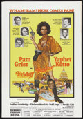 "Movie Posters:Blaxploitation, Friday Foster (American International, 1975). One Sheet (29.5"" X42.5"") New York City Theaters Poster. Blaxploitation. Starr..."