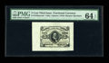 Fractional Currency:Third Issue, Fr. 1236/38SP 5¢ Third Issue Wide Margin Set of Three PMG Gem Uncirculated 67 EPQ/66 EPQ/64 EPQ. All three pieces of this Cl... (Total: 3 notes)