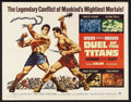 """Movie Posters:Action, Duel of the Titans (Paramount, 1963). Half Sheet (22"""" X 28""""). Action. Directed by Sergio Corbucci. Starring Steve Reeves, Go..."""