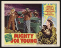 """Movie Posters:Adventure, Mighty Joe Young (RKO, 1949). Lobby Card (11"""" X 14""""). Adventure.Starring Terry Moore, Ben Johnson, Robert Armstrong, Frank ..."""