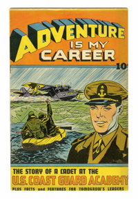 Adventure is my Career #1 (Street & Smith, 1945) Condition: VF-