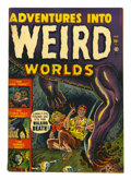 Golden Age (1938-1955):Horror, Adventures Into Weird Worlds #1 (Atlas, 1952) Condition: FN+....