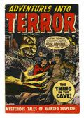 Golden Age (1938-1955):Horror, Adventures Into Terror #43 (#1) (Atlas, 1950) Condition: FN....