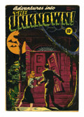 Golden Age (1938-1955):Horror, Adventures Into The Unknown #1 (ACG, 1948) Condition: VG/FN....