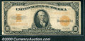 Large Size Gold Certificates:Large Size, 1922 $10 Gold Certificate, Fr-1173, Fine. A solid, affordable l...