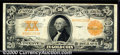 Large Size Gold Certificates:Large Size, 1922 $20 Gold Certificate, Fr-1187, VF. An attractive example f...