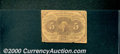 Fractional Currency: , 1862-1863, 5c First Issue, Jefferson Stamp, Fr-1230, G-VG. Heav...