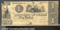 Miscellaneous:Republic of Texas Notes, 1840 $1 Republic of Texas, Fine. Cr-A1. A crisp note with two c...