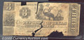 Miscellaneous:Republic of Texas Notes, 1844 $3 Republic of Texas, Poor. Cr-A3. Although this note rese...