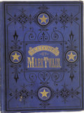 Books:First Editions, Mark Twain [Samuel L. Clemens]. Mark Twain's Sketches, New andOld. Hartford and Chicago: The American Publishin...
