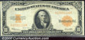 Large Size Gold Certificates:Large Size, 1922 $10 Gold Certificate, Fr-1173, VF. A perfect note for the ...