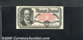Fractional Currency: , 1874-1876, 50c Fifth Issue, Crawford, Fr-1381, AU. This note pr...