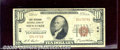 National Bank Notes:Wisconsin, First Wisconsin National Bank, WI, Charter #64. 1929 $10 Type O...