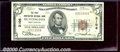 National Bank Notes:West Virginia, First Huntington National Bank, WV, Charter #3106. 1929 $5 Type...