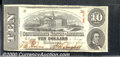 Confederate Notes:1863 Issues, 1863 $10 State Capitol at Columbia, SC; R.M.T. Hunter, T-59, CU...