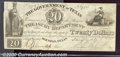 Miscellaneous:Republic of Texas Notes, $20, Government of Texas, hand written date January 17, 1839, F...