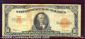 Large Size Gold Certificates:Large Size, 1922 $10 Gold Certificate, Fr-1173, VG-Fine. A fairly decent no...
