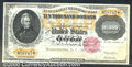 Large Size Gold Certificates:Large Size, 1900 $10000 Gold Certificate, Fr-1225, CU. Redeemed and cancell...