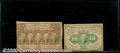 Fractional Currency: , 1862-1863, 10c/25c First Issue Postage Currency Notes, Fr-1242/...
