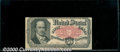 Fractional Currency: , 1874-1876, 50c Fifth Issue, Crawford, Fr-1381, VF. Two hard ver...