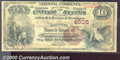 National Bank Notes:Kentucky, Owensboro National Bank, KY, Charter #4006. 1882 $10 Second Cha...
