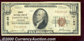 National Bank Notes:Tennessee, Farmers National Bank of Fayetteville, TN, Charter #10198. 1929...