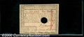 Colonial Notes:Massachusetts, May 5, 1780, $1, Massachusetts, MA-278, AU, hole cancelled. A p...