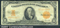 Large Size Gold Certificates:Large Size, 1922 $10 Gold Certificate, Fr-1173, VG-Fine. The note is crisp ...