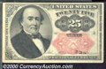 Fractional Currency: , 1874-1876, 25c Fifth Issue, Walker, Fr-1309, VF. Some light soi...