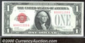 Small Size:Legal Tender Notes, 1928 $1 Legal Tender Note, Fr-1500, Choice CU. A beautiful note...