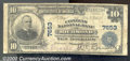 National Bank Notes:Kentucky, Citizens National Bank of Richmond, KY, Charter #7653. 1902 $10...