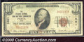 National Bank Notes:Ohio, Citizens National Bank & Trust Company of Piqua, OH, Charter#1...